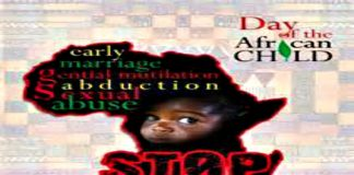 International Day of the Africa Child's Day June 16