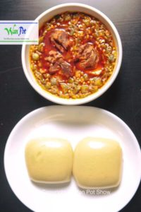 fufu and okra soup11