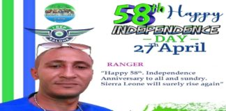 Sierra Leone At 58th Independence Anniversary by Ranger